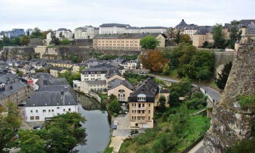Zdjecie LUKSEMBURG / Luksemburg / w stolicy / Luxembourg
