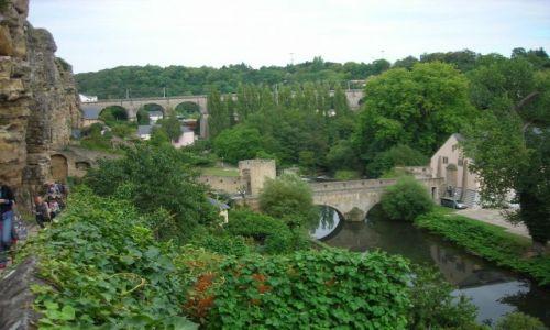 Zdjecie LUKSEMBURG / - / Luksemburg / stare miasto w Luksemburgu
