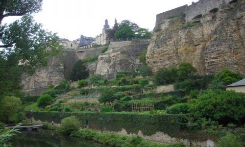 Zdjecie LUKSEMBURG / - / Luksemburg / stare miasto w