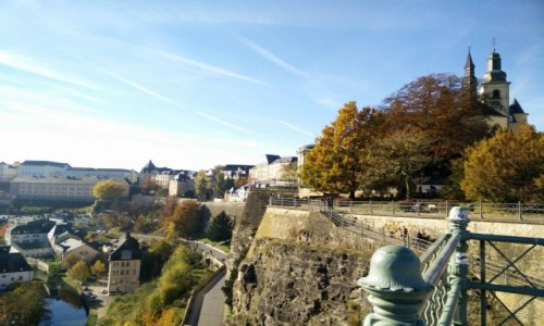 Zdjęcie LUKSEMBURG / - / Luksemburg / Forteca Luksemburg