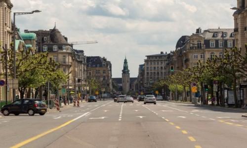 Zdjecie LUKSEMBURG / LUKSEMBURG / LUKSEMBURG / Ulica Luksemburga