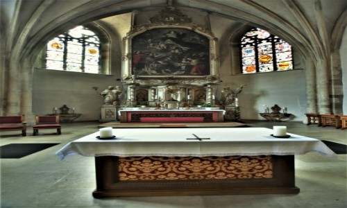 LUKSEMBURG / Stolica / Luksemburg / Luksemburg, kościół św. Michała Archanioła