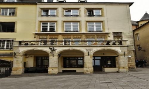 LUKSEMBURG / Stolica / Luksemburg / Luksemburg, zabytkowa kamienica