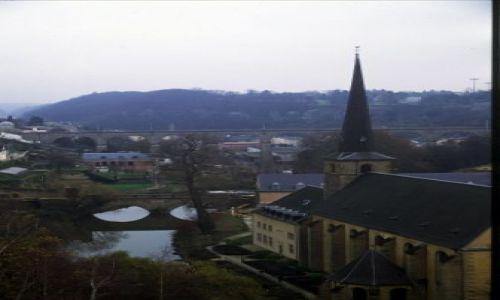 LUKSEMBURG / luxemburg / luxemburg / wąwozy w Luxemburgu
