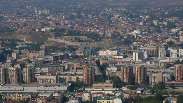 Zdjęcia: Skopje, Skopje - panorama, MACEDONIA