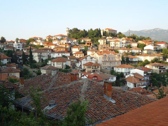 Zdjęcia: Ochryda (Ochrid), Ochryda, Panorama Ochrydu, MACEDONIA