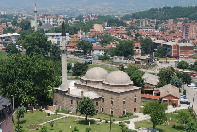 Zdjęcia: Widok na miasto z wieży zegarowej, Skopie, Widok na Skopie, MACEDONIA