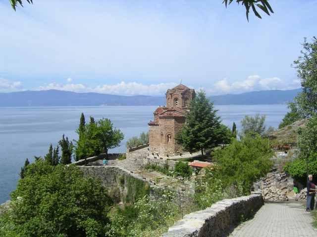 Zdjęcia: Ohryd, Cerkiew, MACEDONIA