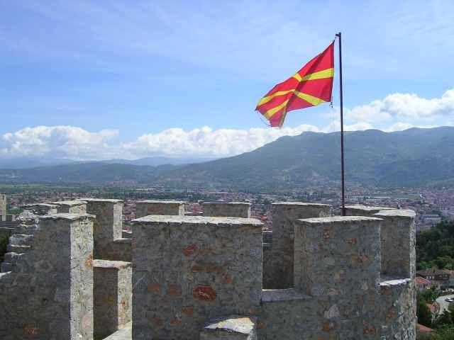 Zdjęcia: Ohryd, Zamek w Ohrydzie, MACEDONIA