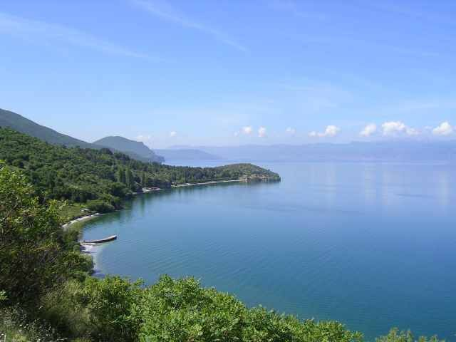Zdjęcia: Ohryd, jezioro Ohrydzkie, MACEDONIA