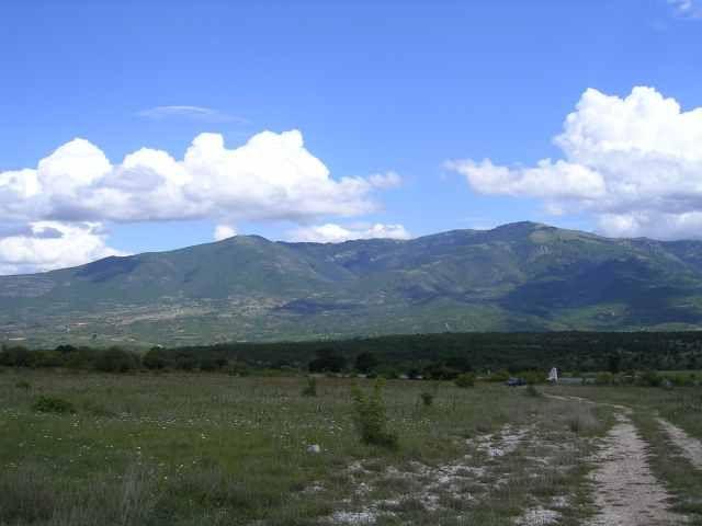 Zdjęcia: droga do Ohrydu, Gory macedońskie, MACEDONIA