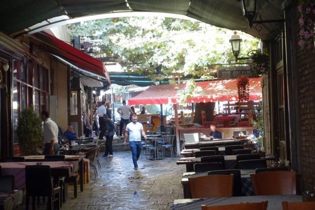 Zdjęcia: Skopje, Restauracyjki w Starej Czarsziji, MACEDONIA