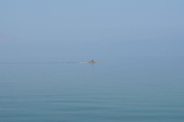 Zdjęcia: Ochryda, Gdzie woda, a gdzie niebo?, MACEDONIA