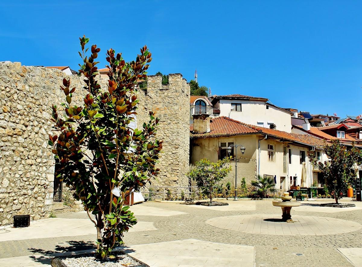 Zdjęcia: Ochryda, płd.-zach.Macedonia Północna, Stare Miasto, MACEDONIA