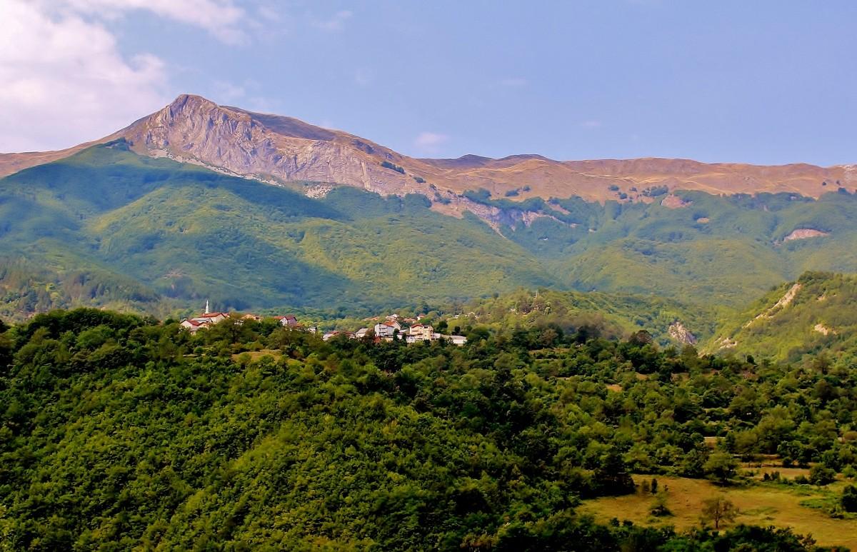 Zdjęcia: Rostusza, park narodowy Mawrowo, Krajobraz, MACEDONIA