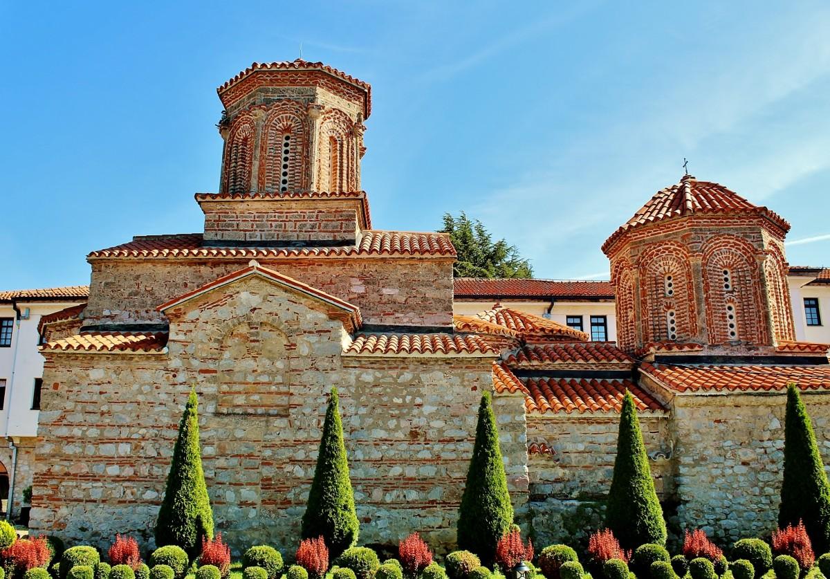 Zdjęcia: Sveti Naum, Ochryda, Klasztor św.Nauma z 905 roku, MACEDONIA
