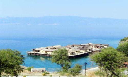Zdjecie MACEDONIA / Wybrzeże jeziora / Ohrid, Struga / Muzeum na wodzie