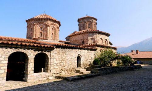 Zdjęcie MACEDONIA / - / Ohrid, Struga / Klasztor św. Nauma