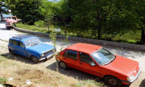 Zdjecie MACEDONIA / - / Ohrid, Struga / Urocze auta ;)