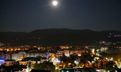Zdjęcie MACEDONIA / - / Ochryda / Ochryda nocą