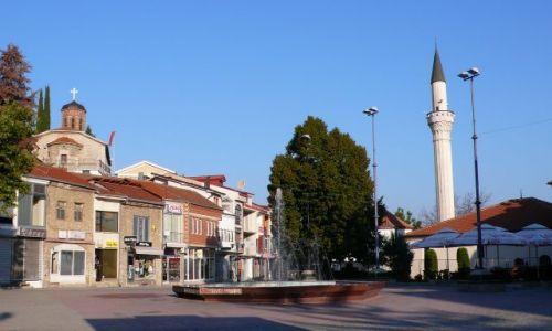 Zdjęcie MACEDONIA / - / Ochryda / Widok na Plac Krusevskiej Republiki