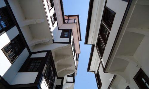 Zdjęcie MACEDONIA / Ochryda / Ochryda (Ochrid) / Ochrydzkie domy