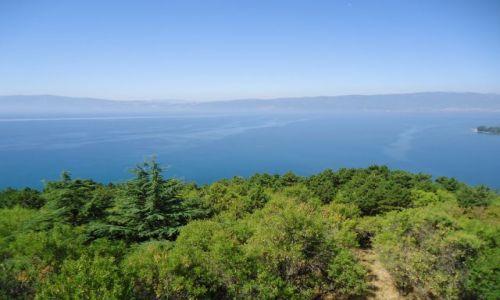 MACEDONIA / Ochryda / Ochryda (Ochrid) / Panorama z twierdzy