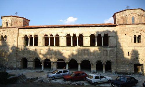 Zdjęcie MACEDONIA / Ochryda / Ochryda (Ochrid) / Kościół św. Zofii
