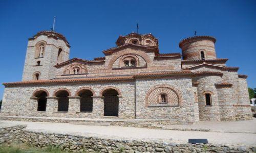MACEDONIA / Ochryda / Ochryda (Ochrid) / Bazylika św. Pantelemona