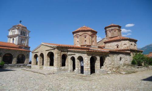 MACEDONIA / Ochryda / Sveti Naum / Monastyr Sveti Naum