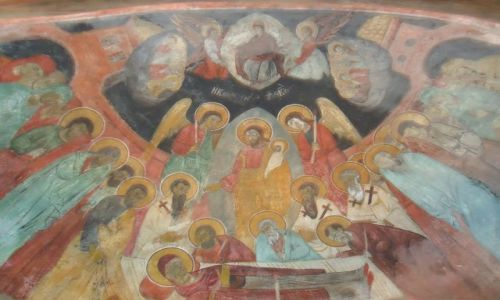 Zdjęcie MACEDONIA / Ochryda / Sveti Naum / Sveti Naum - freski