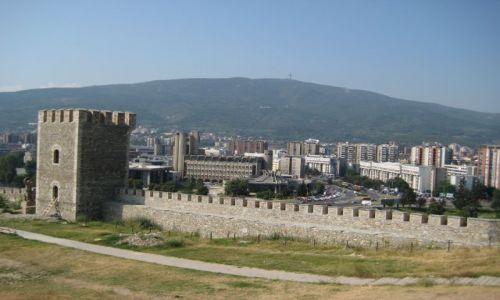 Zdjecie MACEDONIA / - / Skopje / Panorama Skopje