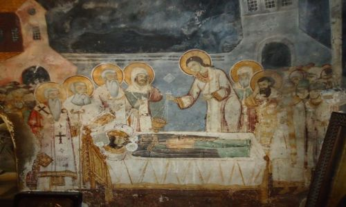 Zdjecie MACEDONIA / Ochryda / Sveti Naum / Fresk
