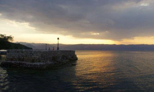 MACEDONIA / Jezioro Ochrydzkie / Wybrzeże / rejs po Jeziorze Ochrydzkim
