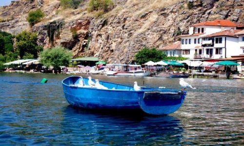 Zdjecie MACEDONIA / Jezioro Ochrydzkie / Ochryd / na łodzi
