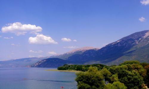 MACEDONIA / Jezioro Ochrydzkie / Jezioro Ochrydzkie / wybrzeże Jeziora Ochrydzkiego
