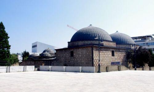 MACEDONIA / Skopije / Skopije / Nowa częćś Skopije - meczet