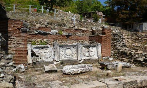 MACEDONIA / Heraklea Lnakeastra / Bitola / ruiny...starożytne zresztą :)