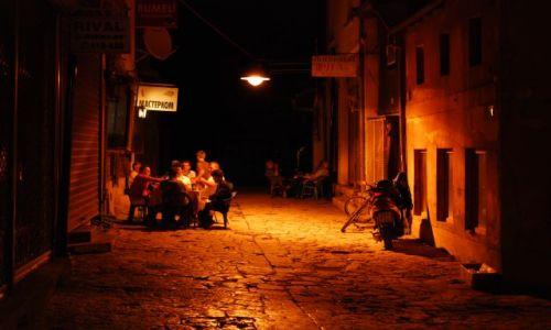 Zdjecie MACEDONIA / Skopie / Stare część Skopie / Nocą w Skopie