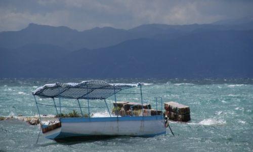 Zdjęcie MACEDONIA / ochryd / ochryd / sztorm na jeziorze ochrydzkim