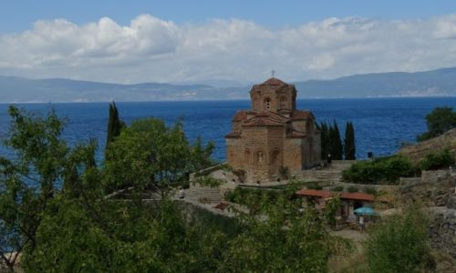 Zdjecie MACEDONIA / Ohrid / Ohrid / sv. Jovan - Kaneo