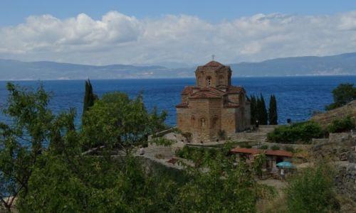 Zdjecie MACEDONIA / Ohrid / Ohrid / sv. Jovan - Kan
