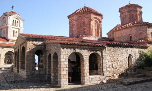 Zdjęcie MACEDONIA / Ochryd / Ochryd / Klasztor św.Nauma