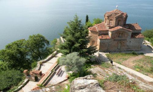 MACEDONIA / Ochryd / jezioro Ochrydzkie / Cerkiew św Jana