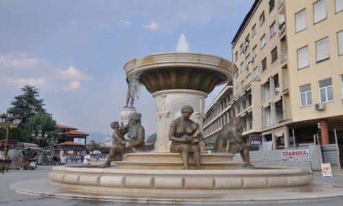 Zdjęcie MACEDONIA / Skopje / Stare miasto / Skopje