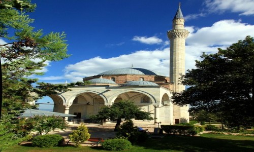Zdjecie MACEDONIA / Skopje / Okolice Starego Bazaru / Meczet Mustafy