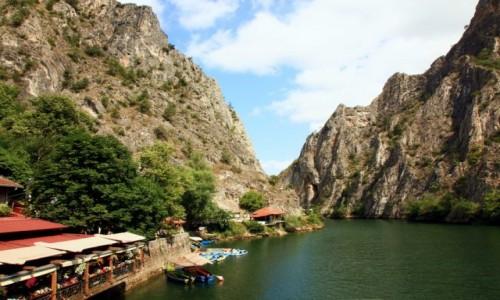 Zdjęcie MACEDONIA / Skopje / Rzeka Treska / Kanion Matka