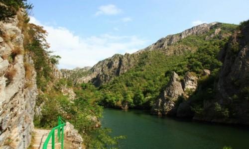Zdjęcie MACEDONIA / Skopje / Rzeka Treska / Spacer