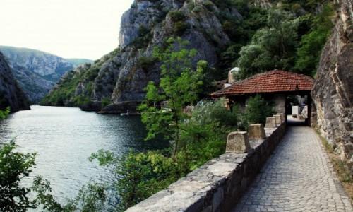 Zdjęcie MACEDONIA / Skopje / Rzeka Treska / W drodze do  Klasztoru św. Andrzeja