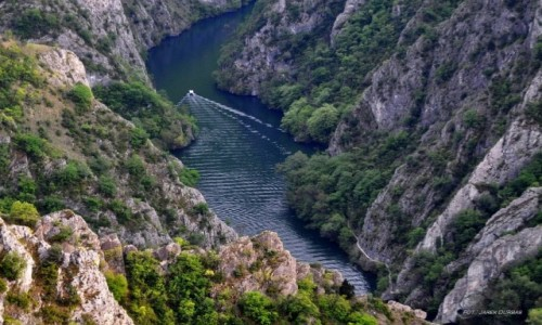 Zdjecie MACEDONIA / Skopje / Kanion Matka / Kanion Matka